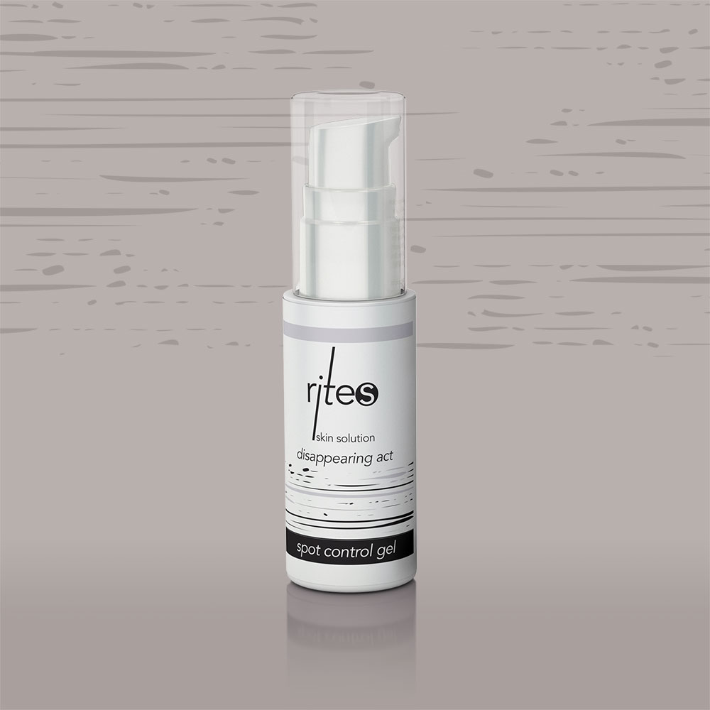 spot control gel | disappearing act | RITES Skin Solution