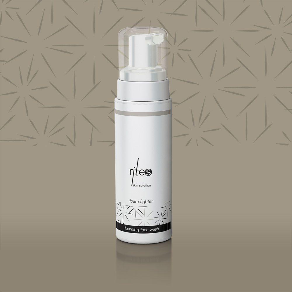 foaming face wash | foam fighter | RITES Skin Solution