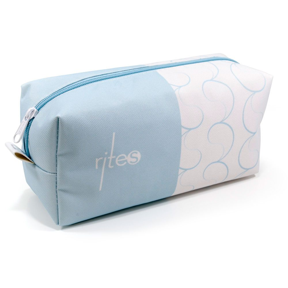 RITES Skin Solution product bag - colour blue